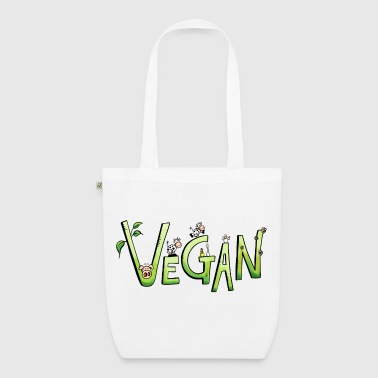 Vegan Font - EarthPositive Tote Bag
