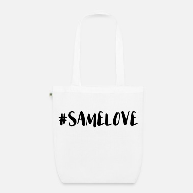 Lovely Same Love Hashtag - Organic Tote Bag