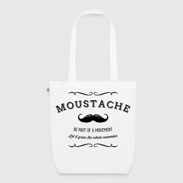 Movement November Moustache Movement - Bio stoffen tas