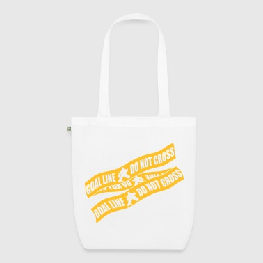 Cross Goal Line Do Not Cross (ice hockey) - EarthPositive Tote Bag