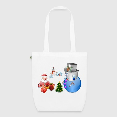 Christmas scene 1 - EarthPositive Tote Bag