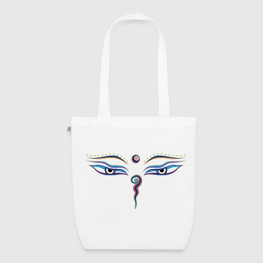 Eyes of Buddha - EarthPositive Tote Bag
