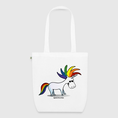 Punk Unicorn, Punky Unicorn - EarthPositive Tote Bag