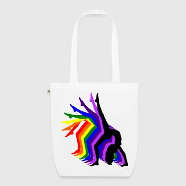 Rainbow Girl - EarthPositive Tote Bag
