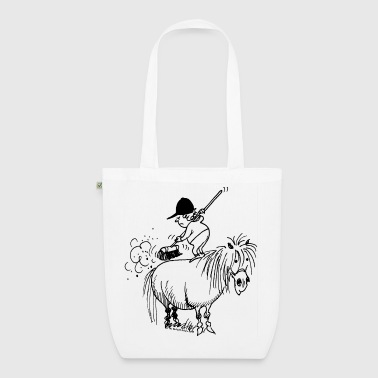 Thelwell 'Spring-cleaning' - EarthPositive Tote Bag