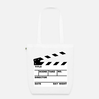 Clapperboard clapperboard (writable flex) - EarthPositive Tote Bag