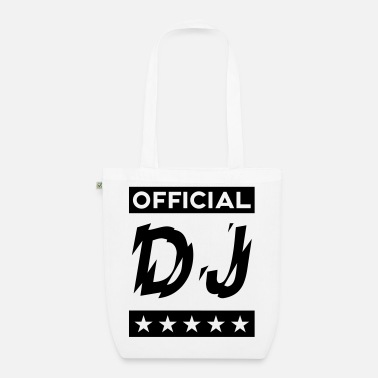 Official OFFICIAL DJ  - Organic Tote Bag