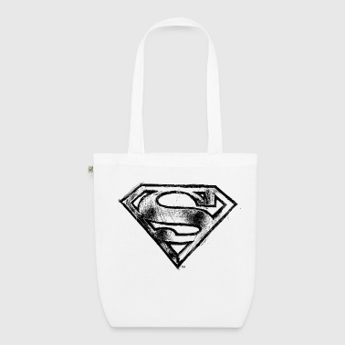 Superman Superman S-Shield Logo black and white - Luomu-kangaskassi