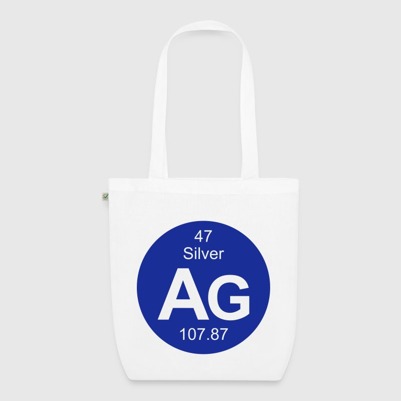 Silver (Ag) (element 47) - EarthPositive Tote Bag