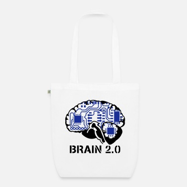 Nerd brain 2.0 - EarthPositive Tote Bag