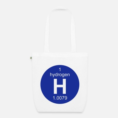 Hydrogen Hydrogen (H) (element 1) - EarthPositive Tote Bag