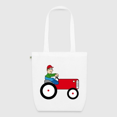 Tractor - EarthPositive Tote Bag