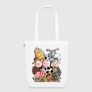 Funny Farm Animals - EarthPositive Tote Bag