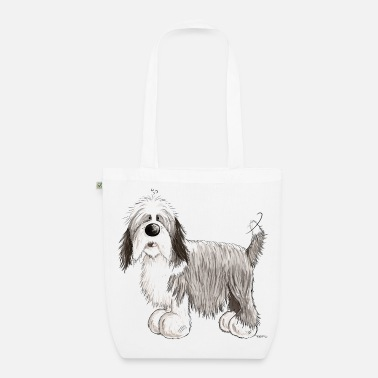 Bearded Collie The Bearded Collie - EarthPositive Tote Bag