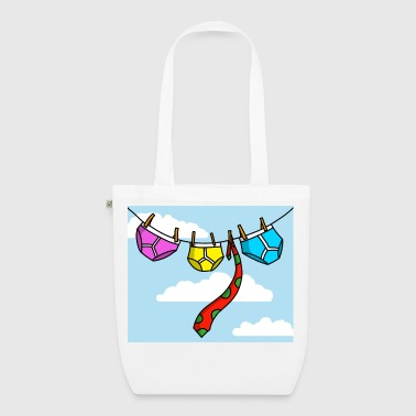 Knickers Undies On The Line - EarthPositive Tote Bag