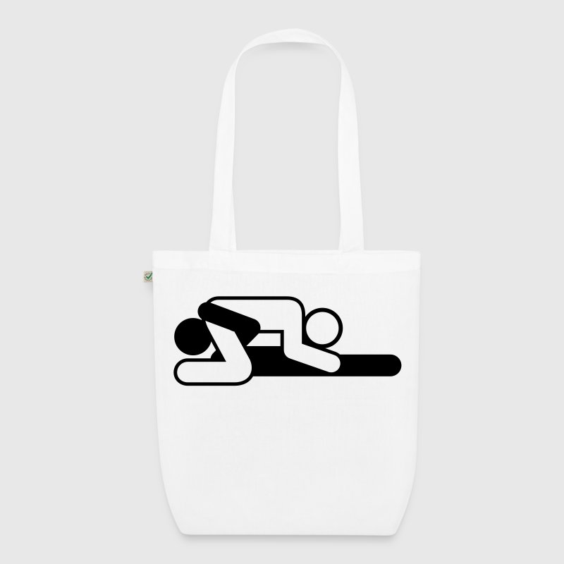A couple in 69 position - EarthPositive Tote Bag