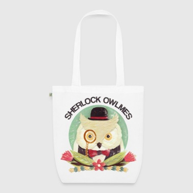 Sherlock Owlmes - EarthPositive Tote Bag