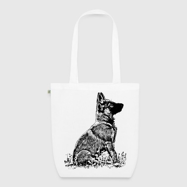 Schaeferhund Welpe - EarthPositive Tote Bag