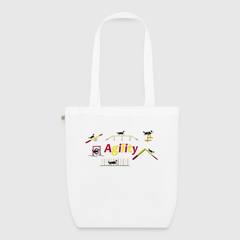 Agility equipment with Titel.png - EarthPositive Tote Bag