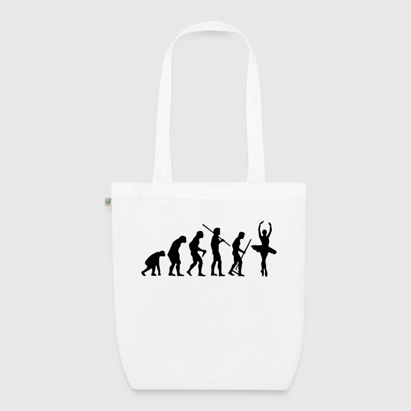 EVOLUTION DANCE - EarthPositive Tote Bag