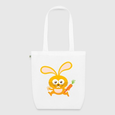 Smiling Little Bunny - EarthPositive Tote Bag