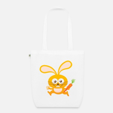 Bulge Smiling Little Bunny - EarthPositive Tote Bag