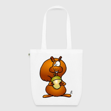 Squirrel - EarthPositive Tote Bag