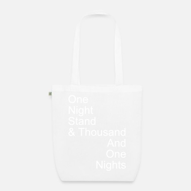 Quote one night stand - Organic Tote Bag