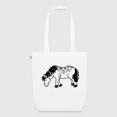 Small Small horse - EarthPositive Tote Bag