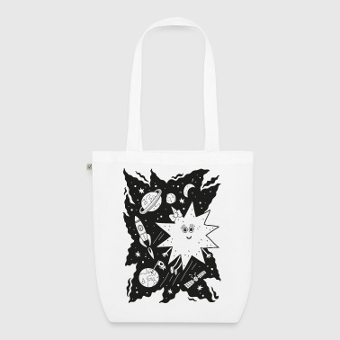 Stella star for coloring - EarthPositive Tote Bag