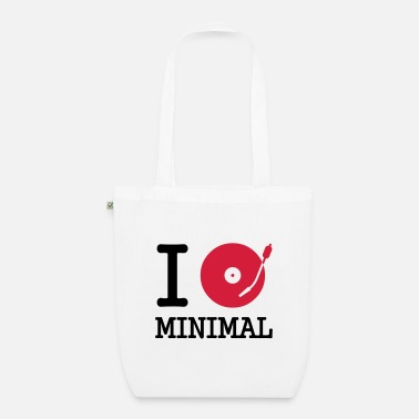 Dj I dj / play / listen to minimal - EarthPositive Tote Bag