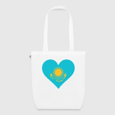A heart for Kazakhstan - EarthPositive Tote Bag