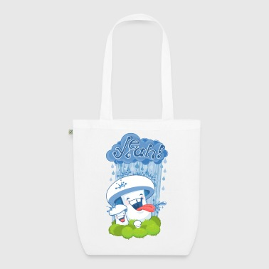 rain mushroom - EarthPositive Tote Bag