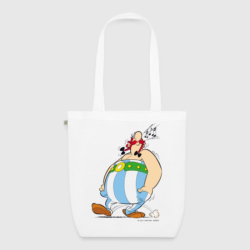 Asterix & Obelix - Obelix is singing Teenager T-Sh - EarthPositive Tote Bag