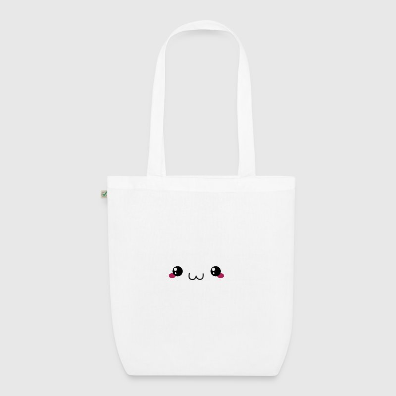 Happy Kawaii Cloud - EarthPositive Tote Bag