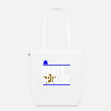 Novelty Party Police Funny Novelty Security - Organic Tote Bag