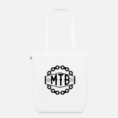 Mountain Biker Mountain bikers - Organic Tote Bag