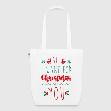 All i want for Xmas - Sac en tissu biologique