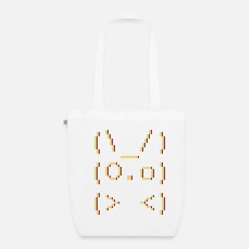 Ascii Art Bunny Organic Tote Bag Spreadshirt