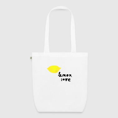 lemon love.png - EarthPositive Tote Bag