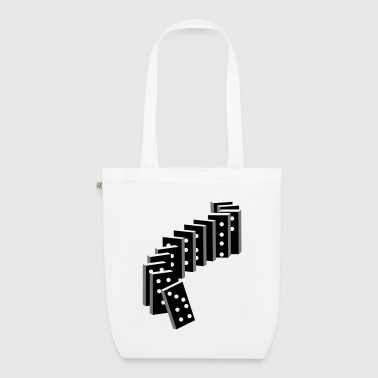 tile-based game with dominoes - EarthPositive Tote Bag