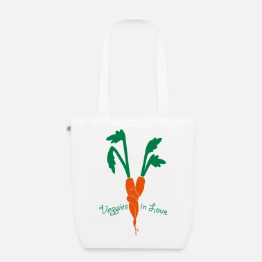 Veggie veggies in love - Bio-Stoffbeutel