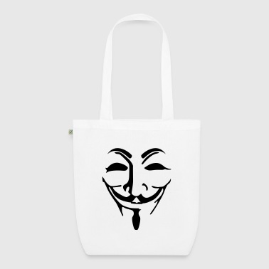 Anonymous mask fawkes - EarthPositive Tote Bag