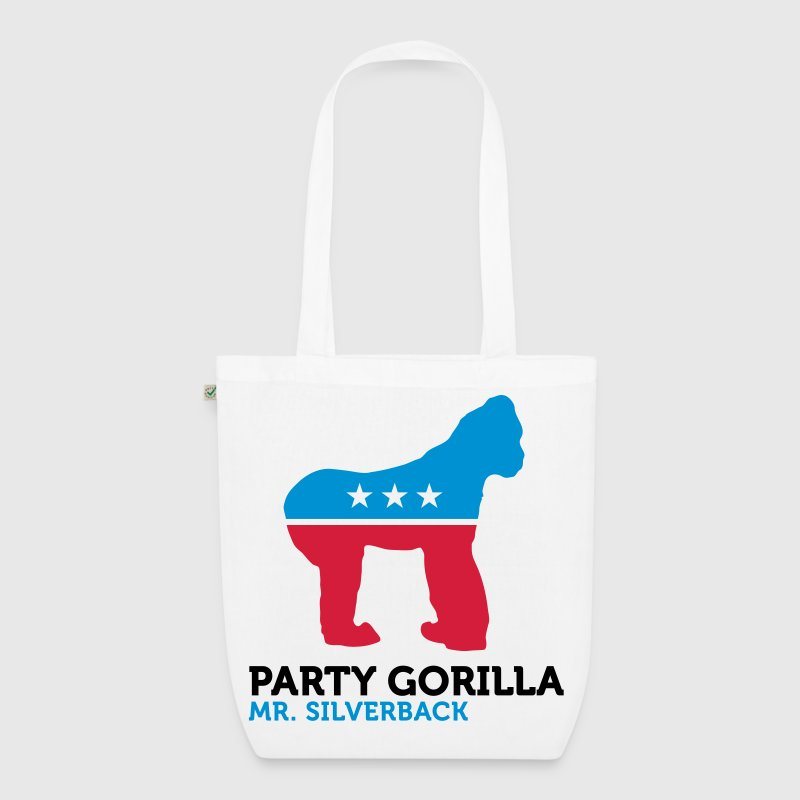 Political Party Animals: Gorilla - EarthPositive Tote Bag