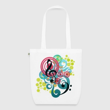 Music Swirl - EarthPositive Tote Bag