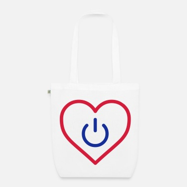 Humour power of love v3 - Sac en tissu bio