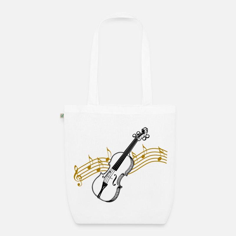 Geige mit Noten / Geige von Pitfotografik | Spreadshirt