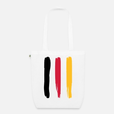 Germany Germany flag – flag of Germany - EarthPositive Tote Bag
