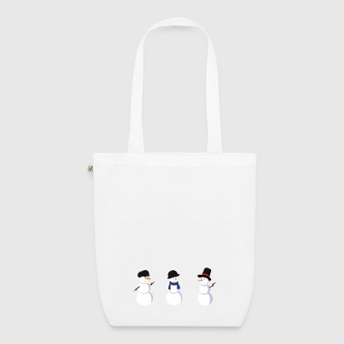 snowman - EarthPositive Tote Bag