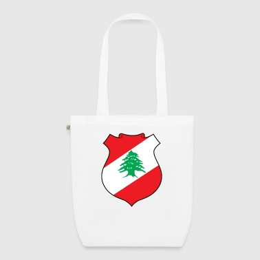 National Coat of Arms of Lebanon - EarthPositive Tote Bag